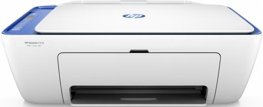 МФУ HP Deskjet 2630 V1N03C цветное A4 14/18ppm 1200x1200dpi Wi-Fi USB мфу hp deskjet 2630