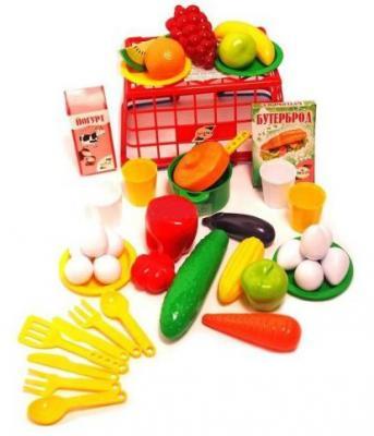 Купить Набор продуктов Orion Пикник в корзинке в ассортименте, разноцветный, Игрушечная посуда