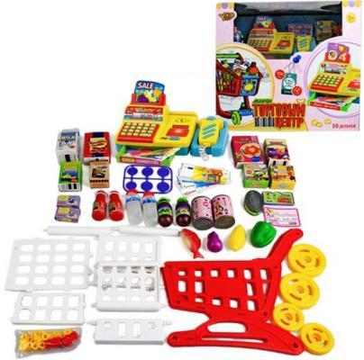 Игровой набор Shantou Gepai Торговый центр с аксессуарами (свет, звук) 28 предметов