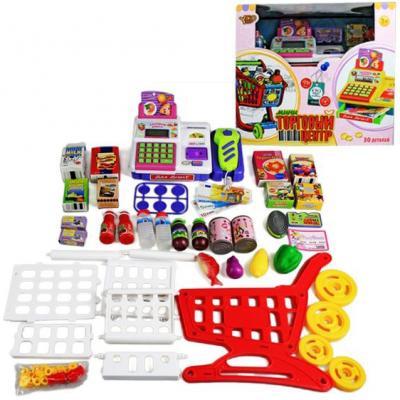 Игровой набор Shantou Gepai Торговый центр, свет, звук 28 предметов veld co игровой набор с куклой торговый центр