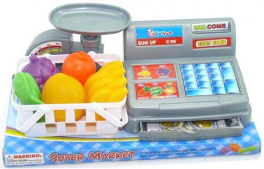 Игровой набор Shantou Gepai Касса с весами и аксессуарами
