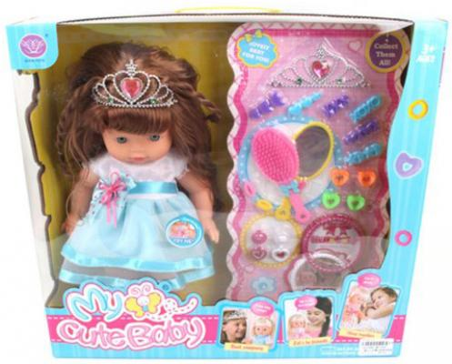 Кукла Shantou Gepai Рита с аксессуарами 40 см со звуком в ассортименте кукла shantou gepai лиза с аксессуарами 32 см в ассортименте