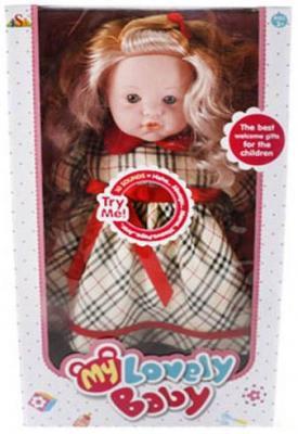 Кукла Shantou Gepai Злата 45 см со звуком в ассортименте кукла shantou gepai amore baby 23 см p8872 16 pvc