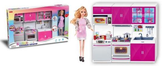 Купить Набор мебели Shantou Gepai Стильный кухонный гарнитур с аксессуарами свет, звук, Аксессуары для кукол