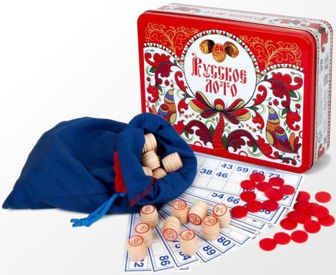 Настольная игра Русский Стиль лото Русское лото - Узоры настольная игра лото десятое королевство русские узоры жестяная коробка