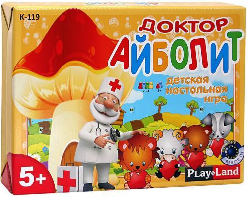 Настольная игра PLAYLAND семейная Доктор Айболит