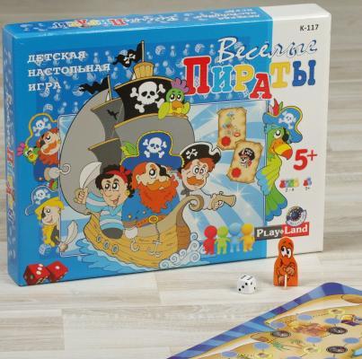 Настольная игра PLAYLAND развивающая Веселые пираты д мэтьюс в болотников пираты и их сокровища