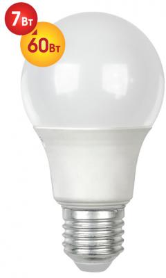 Лампа светодиодная груша Dialog A60-E27-7w-3000k E27 7W 3000K diy 3w 3000k 315lm warm white light round cob led module 9 11v
