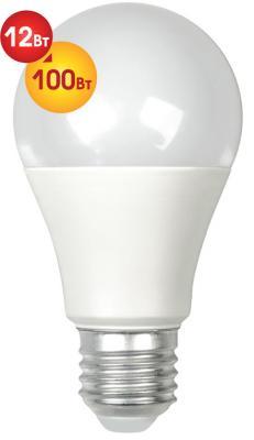 Лампа светодиодная груша Dialog A60-E27-12w-3000k E27 E27 12W 3000K цена