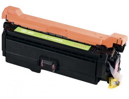 Картридж Cactus CS-CE263AV для HP LJ CP4025/CP4525 пурпурный 11000стр картридж cactus cs ce260x для hp lj cp4025 cp4525 cm4540 черный 17000стр
