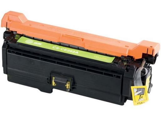 Картридж Cactus CS-CE262AV для HP LJ CP4025/CP4525/CM4540 желтый 11000стр картридж cactus cs ce260x для hp lj cp4025 cp4525 cm4540 черный 17000стр