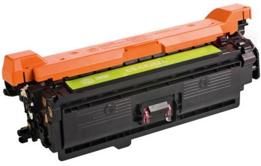 Картридж Cactus CS-CE252AV для HP CLJ CP3525/CM3530 желтый 7000стр