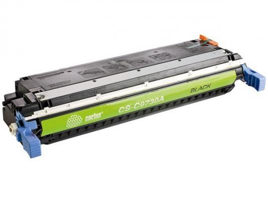 Картридж Cactus CS-C9730AV для HP CLJ 5500/5550 черный 13000стр цены онлайн