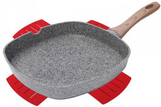 Сковорода-гриль Bergner BG-7979 Granit Eco weissgauff quadro 420 eco granit песочный