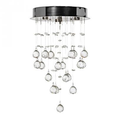 Потолочный светодиодный светильник Arti Lampadari Flusso L 1.4.25.601 N накладной светильник arti lampadari flusso l 2 18 601 n