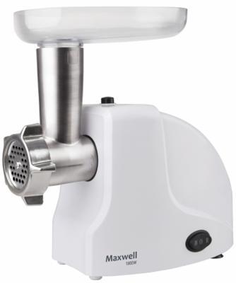 лучшая цена Мясорубка Maxwell MW-1263(W) 1800 Вт белый