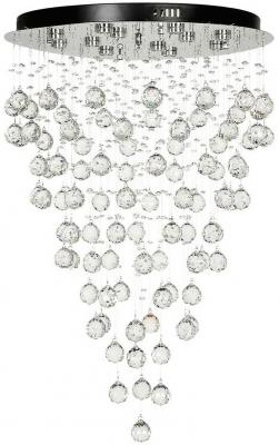 Каскадная светодиодная люстра Arti Lampadari Flusso L 1.4.55.601 N накладной светильник arti lampadari flusso l 2 18 601 n