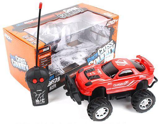 Машинка на радиоуправлении Shantou Gepai 637159 пластик, металл от 3 лет красный