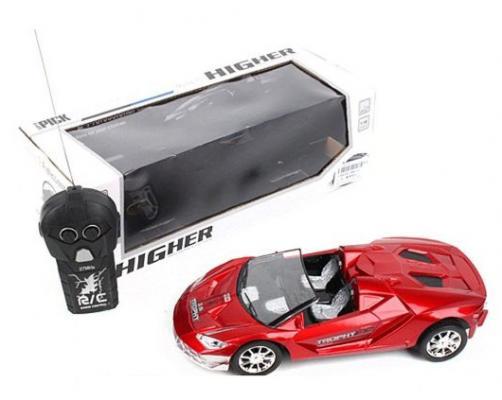 Машинка на радиоуправлении Shantou Gepai 637148 пластик, металл от 3 лет красный машинка на радиоуправлении shantou gepai g253 12a пластик от 3 лет красный 6927712563804