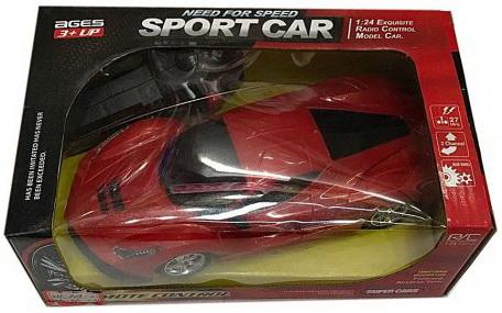Машинка на радиоуправлении Shantou Gepai Sport Car пластик от 3 лет красный
