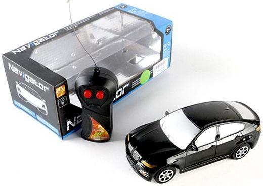 Машинка на радиоуправлении Shantou Gepai Джип пластик, металл от 3 лет черный