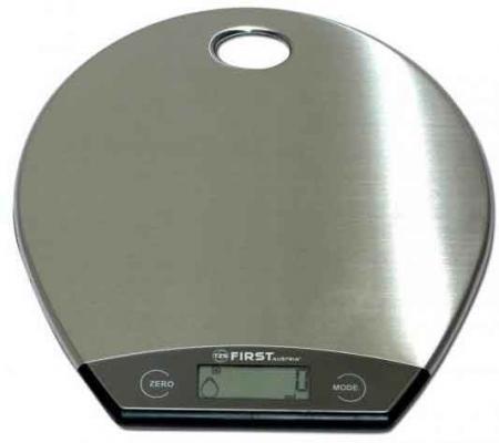 Весы кухонные First FA-6403-1 серебристый