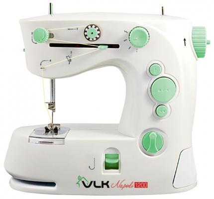 Швейная машина VLK Napoli 1200 белый швейная машина vlk napoli 2800