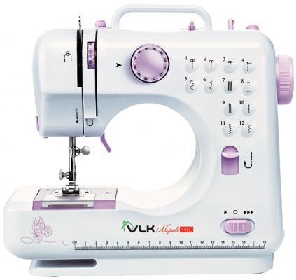 Швейная машина VLK Napoli 1400 белый электромеханическая швейная машина vlk napoli 2100
