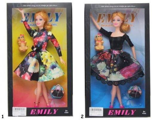 "Кукла Shantou Gepai ""Эмили"" с аксессуарами 29 см ассортимент, HP1092269"