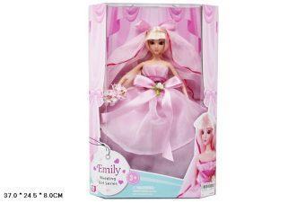 Кукла Shantou Gepai Невеста в розовом 29 см недорого