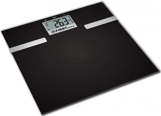 цена на Весы напольные First FA-8006-3-BA чёрный