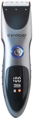 Машинка для стрижки волос ENDEVER Sven 985 чёрный серебристый пылесосы endever пылесос