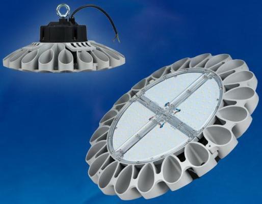 Подвесной светодиодный светильник (UL-00001707) Uniel ULY-U30B-160W/NW IP65 Silver подвесной светодиодный светильник ul 00002322 uniel uly u40c 150w dw ip65 black