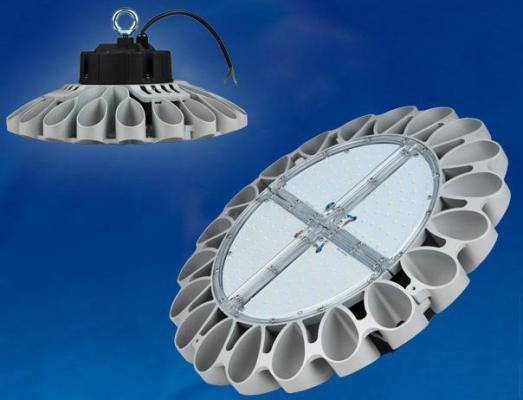 Подвесной светодиодный светильник (UL-00002057) Uniel ULY-U30B-100W/DW IP65 Silver подвесной светодиодный светильник ul 00002322 uniel uly u40c 150w dw ip65 black