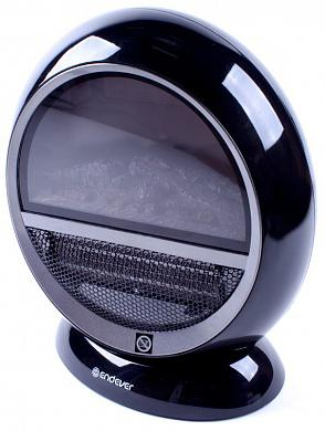Электрокамин ENDEVER Flame 01 1500 Вт поворот корпуса чёрный