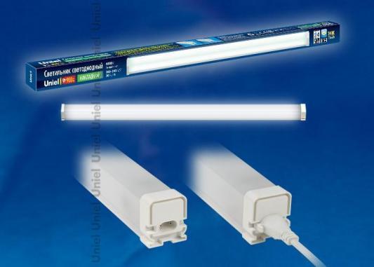 Мебельный светодиодный светильник (UL-00001617) Uniel ULO-BL60-9W/NW/K IP54 White мебельный светодиодный светильник ul 00001618 uniel ulo bl120 18w nw k ip54 white