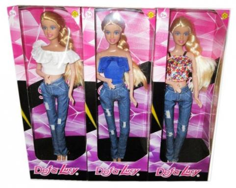 Кукла DEFA LUCY Стильная штучка кукла defa lucy любимый малыш pink 5063pk