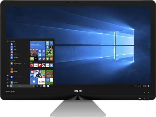 Моноблок 27 ASUS Zen AiO ZN270IEGK-RA020T 1920 x 1080 Intel Core i7-7700T 12Gb 2 Tb nVidia GeForce GT 940МХ 2048 Мб Windows 10 Home серый черный 90PT01R1-M00660 моноблок asus zen aio zn240icgk rc016x