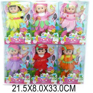 Кукла Shantou Gepai Цветочная полянка 27 см в ассортименте кукла shantou gepai с коляской cs5832ha