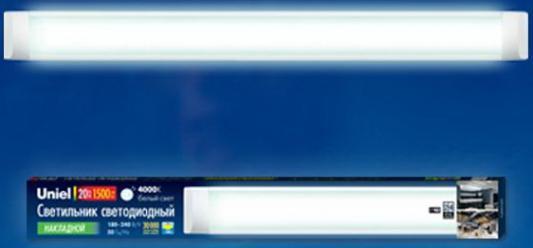 Потолочный светодиодный светильник (UL-00001797) Uniel ULO-CL60-20W/NW Silver мебельный светодиодный светильник ul 00001618 uniel ulo bl120 18w nw k ip54 white