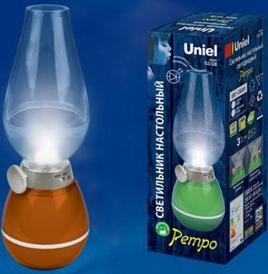Настольная лампа (UL-00001503) Uniel TLD-538 Brown/LED/80Lm/5500K/Dimmer