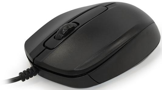 Мышь проводная CBR CM-117 чёрный USB