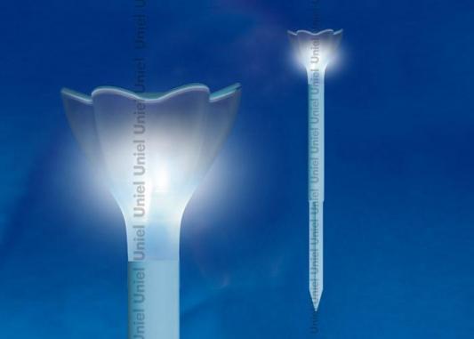 Светильник на солнечных батареях (10624) Uniel Promo USL-C-418/PT305 Blue Crocus