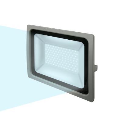 Прожектор светодиодный (UL-00001915) Uniel 100W 6000K ULF-F16-100W/DW IP65 185-240В Silver uniel ulf f16 100w nw ip65 185 240в silver