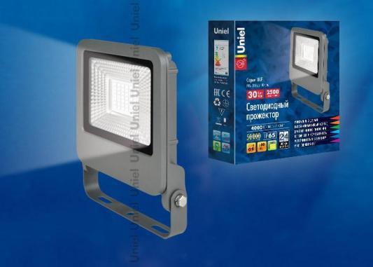 Прожектор светодиодный (UL-00002068) Uniel 30W 4000K ULF-F17-30W/NW прожектор светодиодный 09034 uniel 70w 4000k ulf s04 70w nw