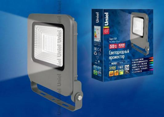 Прожектор светодиодный (UL-00002071) Uniel 50W 4000K ULF-F17-50W/NW прожектор светодиодный 09034 uniel 70w 4000k ulf s04 70w nw