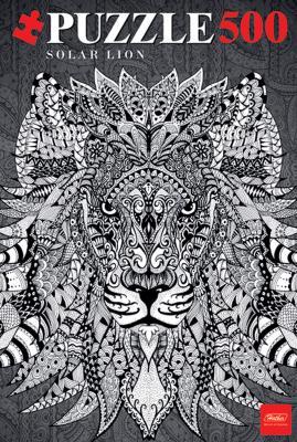 Пазл Hatber «Doodle Art» Lion 500ПЗ2_16013 500 элементов пазл 500 элементов hatber мулен руж 500пз2 08020
