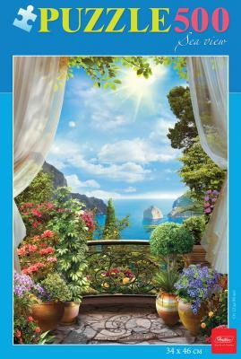 Пазл Hatber Морской вид 500ПЗ2_16971 500 элементов пазл hatber райский сад 340x460mm 500пз2 16969