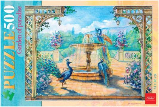 Пазл Hatber Райский сад 500ПЗ2_16969 500 элементов пазл hatber райский сад 340x460mm 500пз2 16969