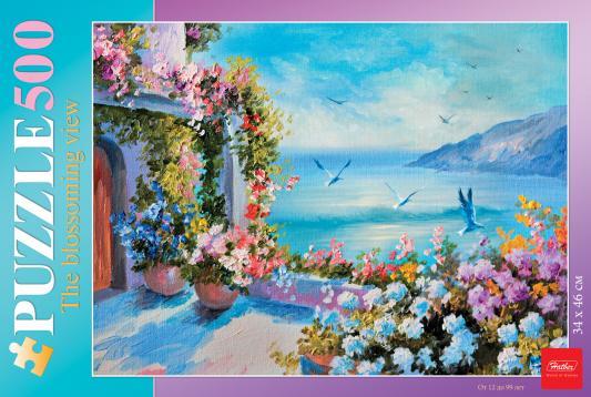 Пазл Hatber Цветущий вид 500ПЗ2_17102 500 элементов пазл hatber райский сад 340x460mm 500пз2 16969